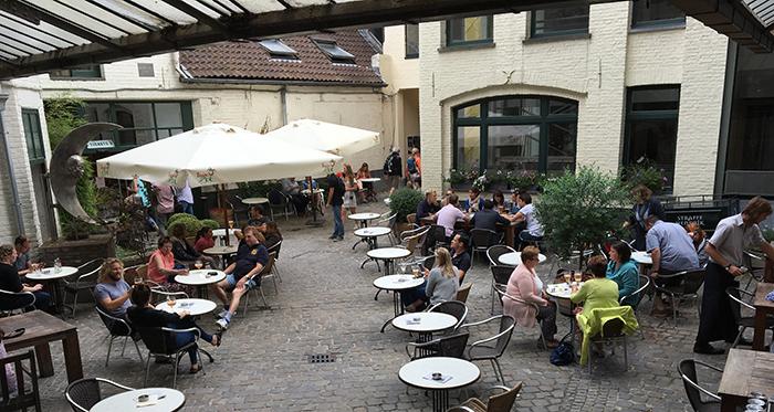 Bruges Brasserie terrasse