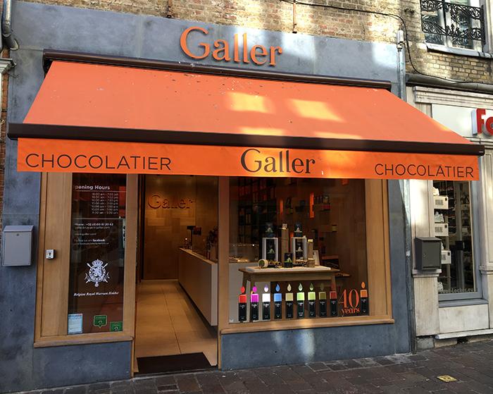 Bruges Galler chocolats