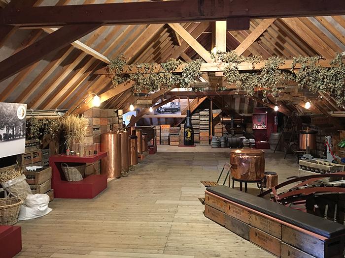 Bruges visite brasserie grenier