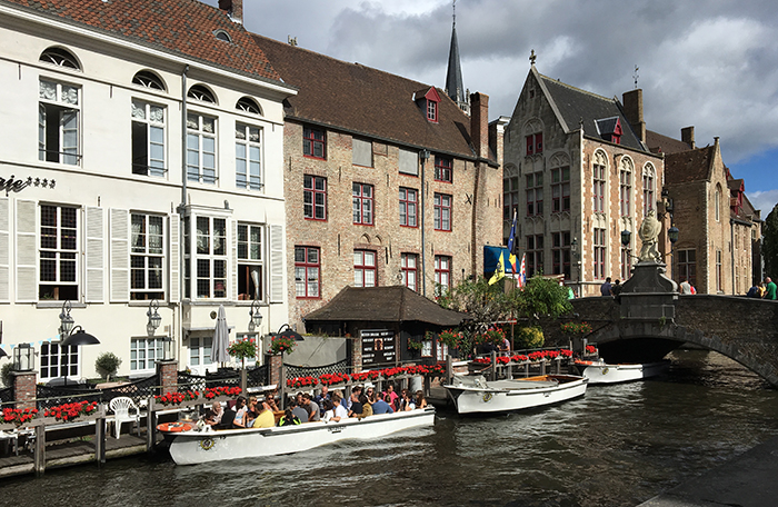 Bruges visite canaux