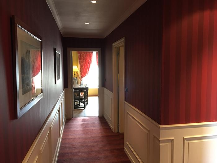 Martins Relais Bruge Couloir chambre 34
