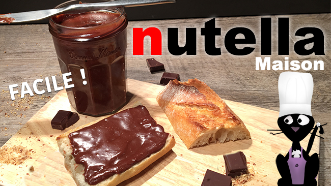 comment faire du nutella maison recette facile. Black Bedroom Furniture Sets. Home Design Ideas