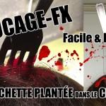 FX facile et rapide pour HALLOWEEN - La fourchette plantée d...