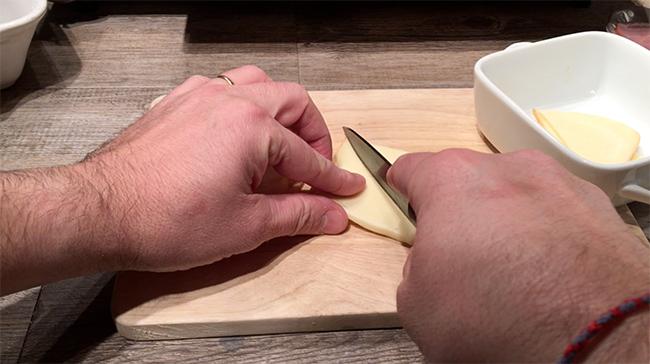 Rôti Orloff recette fromage