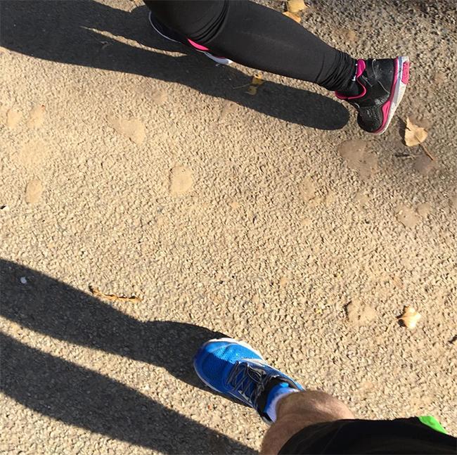 Running PF