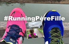Running Pere fille