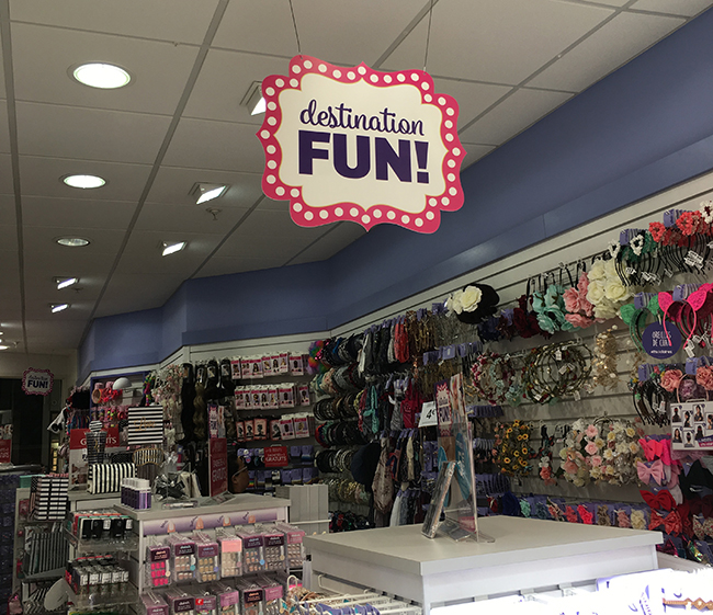 Claires magasin fun