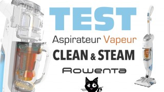 Rowenta clean and steam test avis