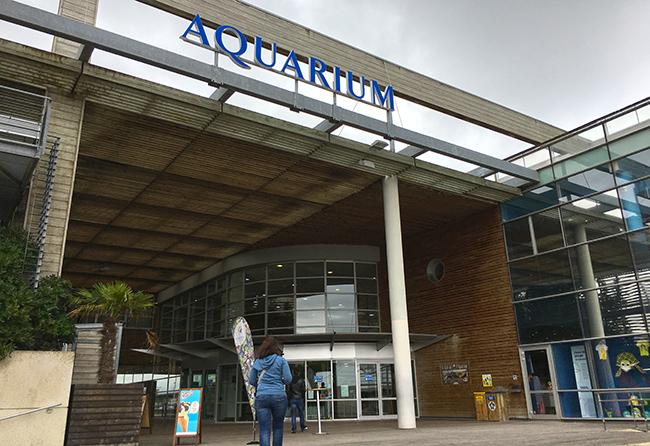 Aquarium la rochelle facade