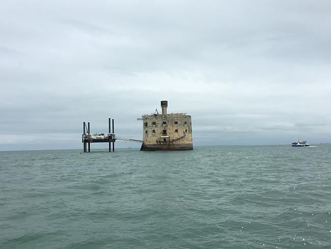 Fort Boyard depuis la mer