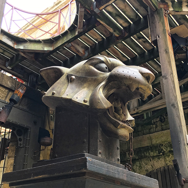 Fort Boyard tete de tigre