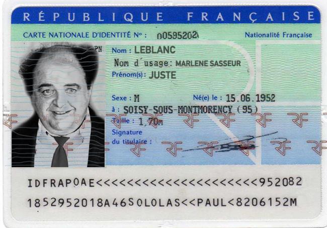 Juste Leblanc identité