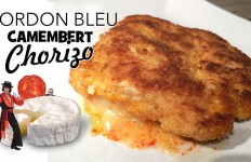 Cordon bleu camembert chorizo UNE