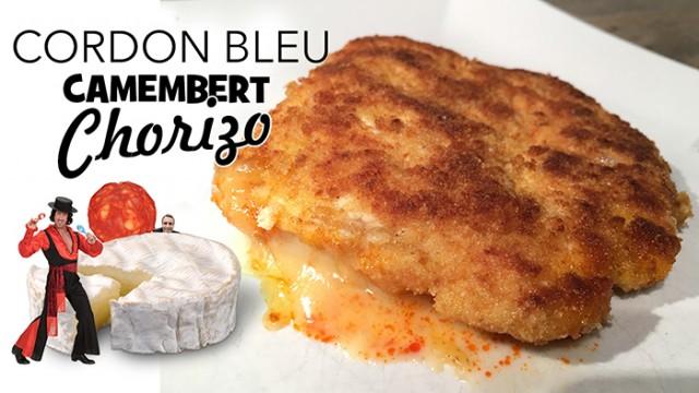 Cordon bleu camembert chorizo UNE