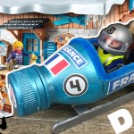 Tuto D.I.Y : Le BOBSLEIGH pour PLAYMOBIL