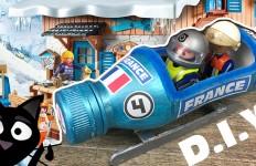 Tuto DIY Bobsleigh Playmobil