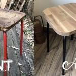 Upcycling : transformation d'un vieux tabouret