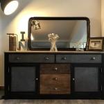 Mes relooking de meubles dans le style industriel