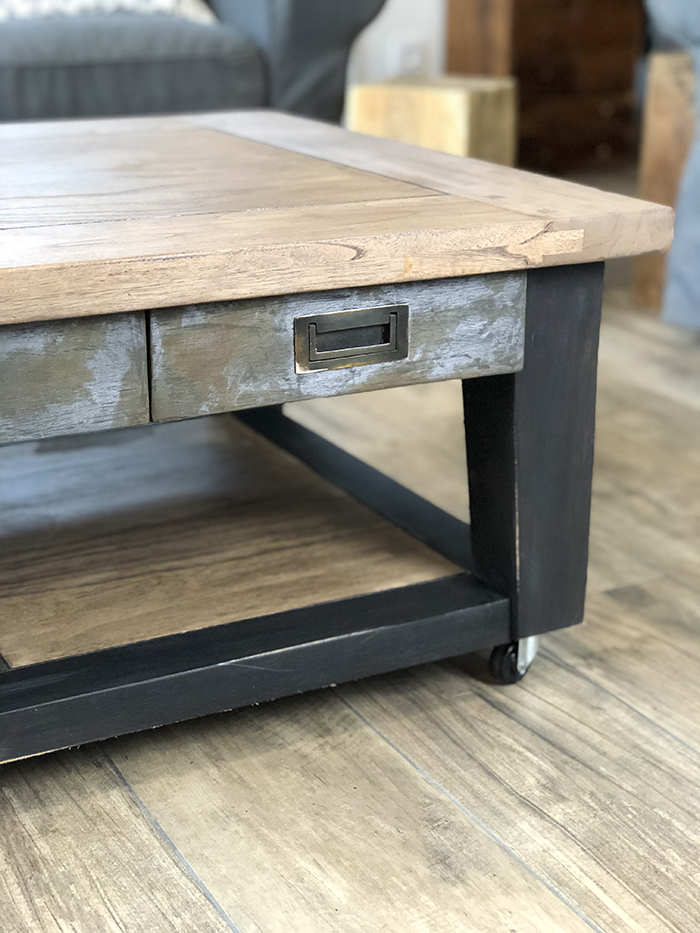 Relooking table basse industriel 2