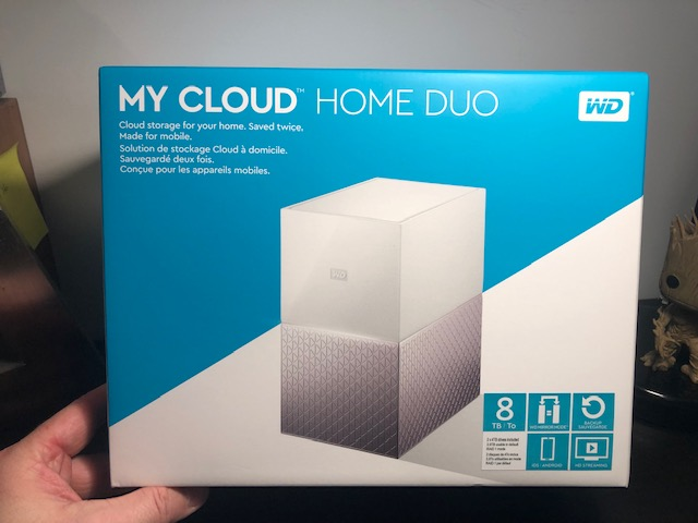 My Cloud Home Duo 8 To