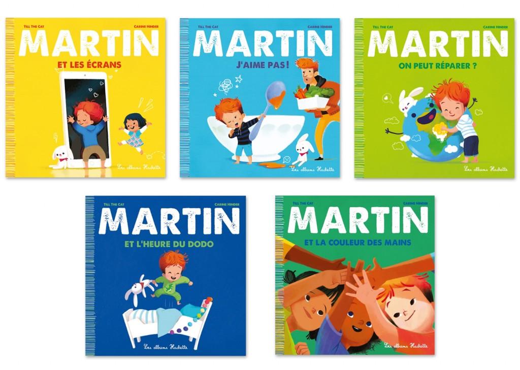 Martin 5 tomes
